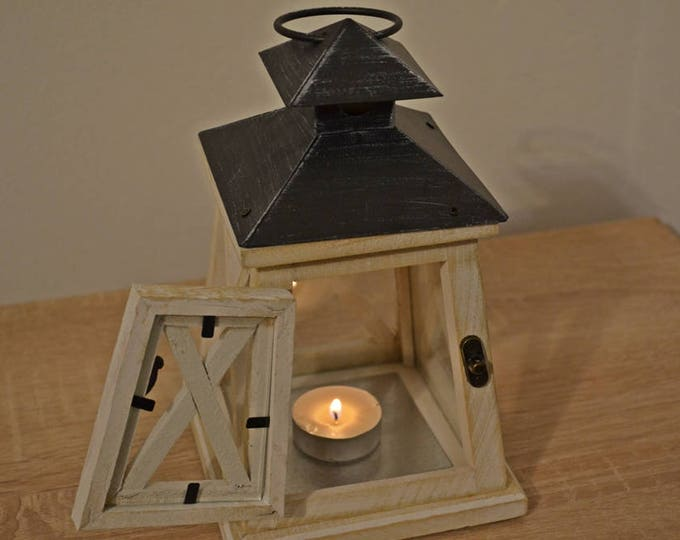 10%OFF Wooden lantern / nautical summer lanterns / wooden lanterns