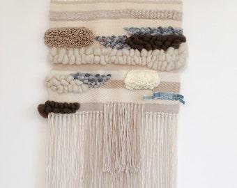 Modern weaving - wall hanging - Woven wallhanging - Wallart - Fiberart