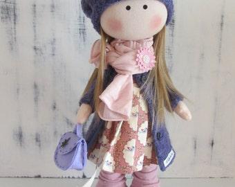fabric doll handmade, rag doll, personalized doll, cloth doll, creative doll, fabric doll, doll for gift, cute doll, decor for home, tilda