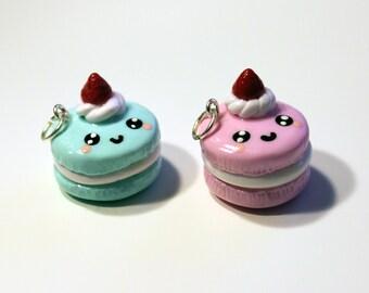 Macaron Charm - Polymer Clay