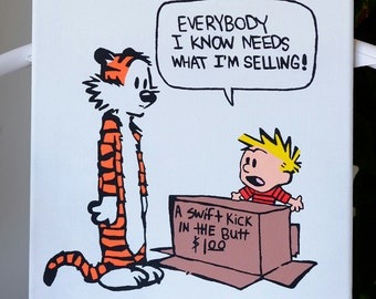 Calvin and Hobbes (Swift Kick)