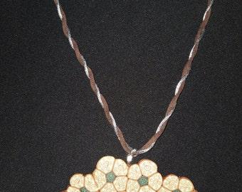 Necklace,gift,mother,craft,handmade,ornament,for her,girl,flower,hypoallergic,idea,romantic,boho,style,lovely,gorgeous, mother's day,elegant