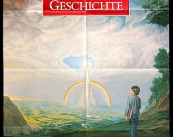 "Neverending Story (1984) Original German Movie Poster - 23"" x 33"""