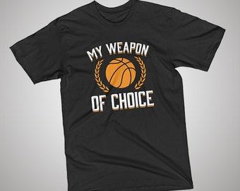 Basketball Weapon of Choice T-Shirt