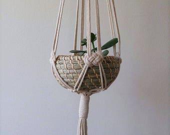Macramé Plant Hanger | Plant Hanger | Plant Holder | Pot Hanger | Plant Hanging | Macramé Plant Holder | Modern Macramé | Bohemian Décor
