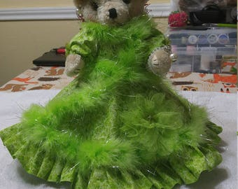 Green Decorative Bear