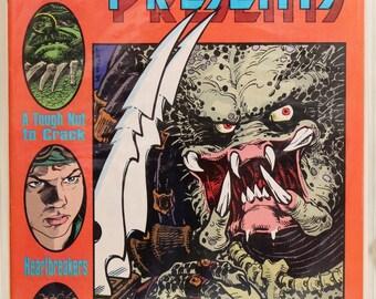 Dark Horse Presents #35 (1989) Predator.
