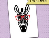Bullet Journal Decal - Nerd Zebra Decal for Bullet Journals - Bullet Journal - Planner gift