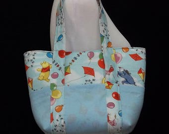 Winnie the Pooh Diaper Tote Bag, Diaper Bag Tote, Baby Shower Gift, Girl Diaper Bag, Boy Diaper Bag, Baby Diaper Bag, Small Diaper Bag, Baby