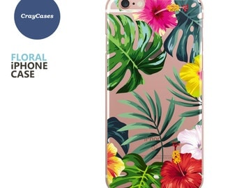 Floral iPhone 7 Case, Floral iPhone 6s Case, Floral iPhone Case, Floral iPhone 6 Case, Floral iPhone 6/7 Plus Case (Shipped From UK)