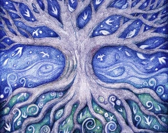 The Dreaming Tree Greetings Card