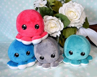 Minky Octopus Plush Cuddle Fabric