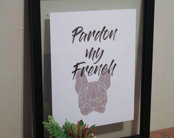 Pardon my French(ie)
