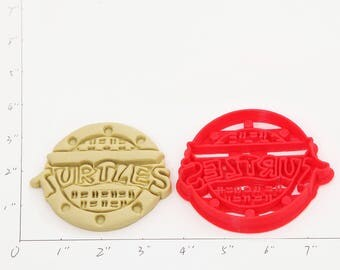 Teenage Mutant Sewer Cover Cookie Cutter Teenage Mutant Sewer Cover Birthday Teenage Mutant Sewer Cover Party