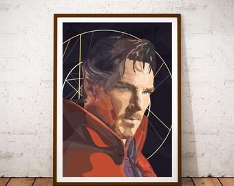 Doctor Strange illustration Poster