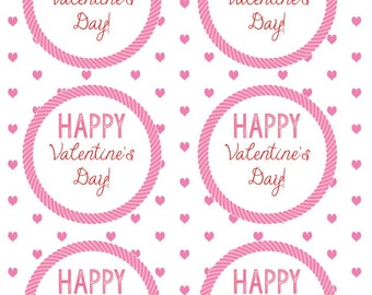 Valentines Day Gift Tag or Favor Card