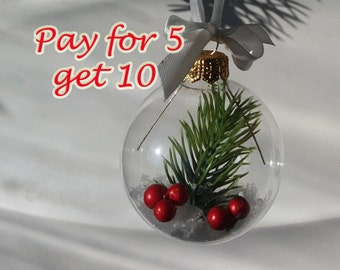 Sale Christmas gift Christmas decoration. Christmas ball. Christmas tree ornaments. Holiday gift Pay for 5 get 10