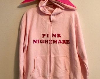 "Christmas Story ""Pink Nightmare"" Zip-Up (Women's XL)"