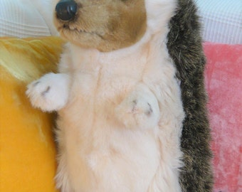 Hedgehog, standing large Hedgehog soft toy, plush animal, stuffed animal