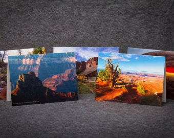 10 pack of 5x7 Scenic Landscape Greeting Cards w/envelopes