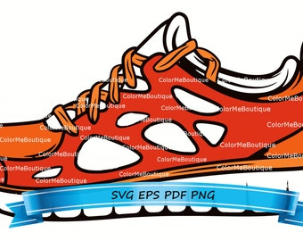 Tennis Shoe Clipart