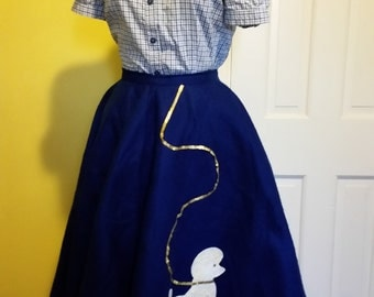 Child/Adult Poodle Skirt