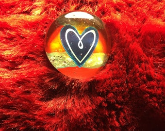 Heart Double Pin