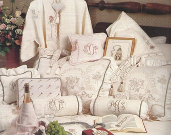 Accent and Fashions for the Bedroom Counted Cross Stitch Pattern