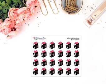 24 Small Sephora Inspired Shopping Bag Stickers