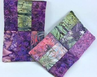 Purple Forest Pot Holders Set (2)