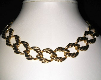 Napier Gold Link Necklace