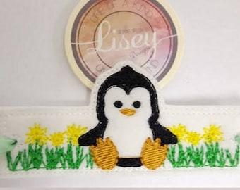 Digital File: 1 Penguin Egg Cuff 4x4