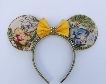 Pooh Bear and Friends Inspired Minnie Ears