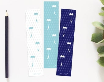 Bookmarks, book accessories, reading, stationery, brand page, illustration, bookmark, books, graphic art, paper