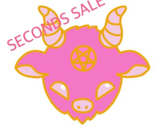 Kawaii Satan Enamel Pin SECONDS SALE