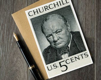 WW2 cards, Winston Churchill, World War 2, World War 2 history, PM Churchill, Prime Minister Churchill, history cards, history buff gifts