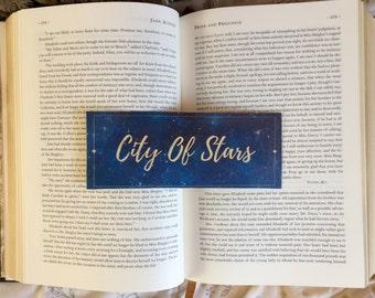 La La Land City of Stars Quote Bookmark