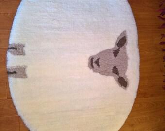 Handmade Nursery/ Children's Bedroom Rug