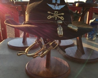 Items Similar To Cavalry Stetson And Spur Display On Etsy