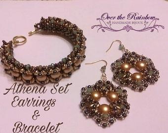 PDF - ATHENA set earrings & bracelet