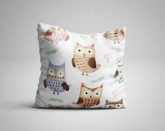 Owls Cushion.