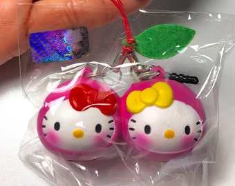 Hello Kitty Scented Fruit Twins ~ Pink Cherry Squishy
