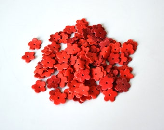 phlox leather flower set of 100 pcs