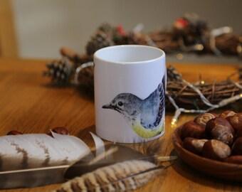 Grey Wagtail Mug
