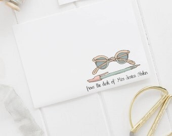 Personalised stationery ~ Personalised stationary ~ Teacher appreciation gift ~ Bridesmaids gift ~ Gift for her ~ Hoard Pretty Things