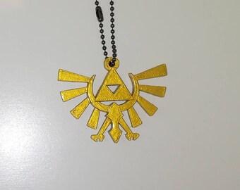 Door key Zelda hylian symbol