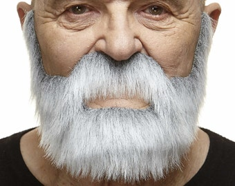 Nobleman gray with white beard and mustache (150-MB)