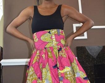 Authentic, Ankara Maxi Skirt