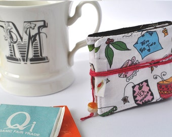 Travel Tea Bag Holder Pouch