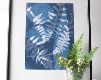 Botancial Art - Monotype Print